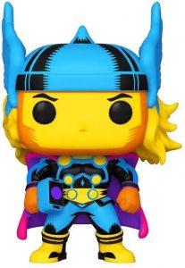 Funko de Thor de Pop Marvel Black Light - Los mejores FUNKO POP de Thor - Los mejores FUNKO POP de Marvel