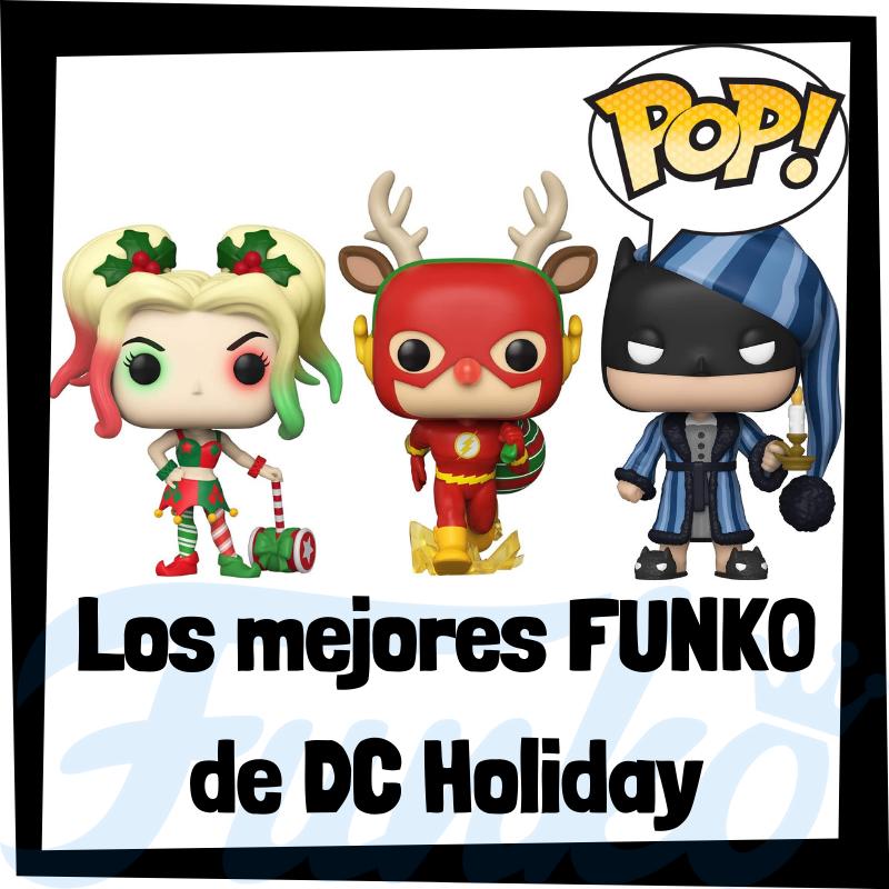 Los mejores FUNKO POP de DC Holiday