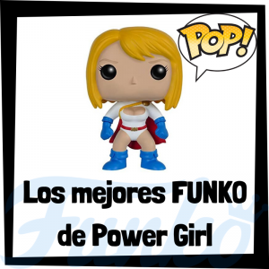 Los mejores FUNKO POP de Power Girl - Funko POP de Power Girl - Funko POP de personajes de DC