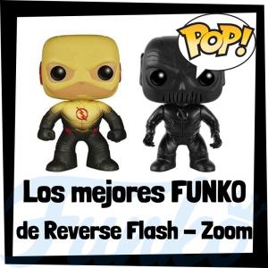 Los mejores FUNKO POP de Reverse Flash y Zoom - Funko POP de la Liga de la Justicia y de villanos de Flash - Funko POP de personajes de DC