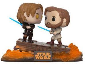 Funko POP de Anakin Skywalker vs Obi Wan Kenobi en Star Wars 3 - Los mejores FUNKO POP de Anakin Skywalker - Los mejores FUNKO POP de personajes de Star Wars