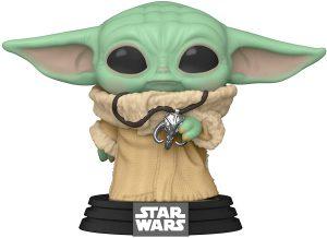 Funko POP de Baby Yoda con colgante exclusivo - Los mejores FUNKO POP de Baby Yoda - The Child de The Mandalorian - Los mejores FUNKO POP de personajes de Star Wars