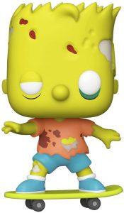 Funko POP de Bart Simpson Zombie - Los mejores FUNKO POP de los Simpsons - Los mejores FUNKO POP de series de dibujos animados