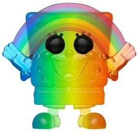 Funko POP de Bob Esponja Pride con arcoiris - Los mejores FUNKO POP de Bob Esponja - Spongebob - Los mejores FUNKO POP de series de dibujos animados