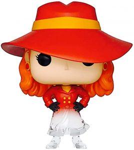 Funko POP de Carmen Sandiego desapareciendo - Los mejores FUNKO POP de Carmen Sandiego - Los mejores FUNKO POP de series de dibujos animados