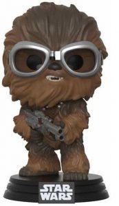 Funko POP de Chewbacca flocked en Han Solo - Los mejores FUNKO POP de Chewbacca - Los mejores FUNKO POP de personajes de Star Wars