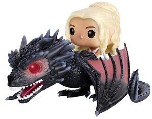 Funko POP de Daenerys Targaryen sobre Drogon clásico - Los mejores FUNKO POP de Juego de Tronos de HBO - Los mejores FUNKO POP de Game of Thrones - Funko POP de series de televisión