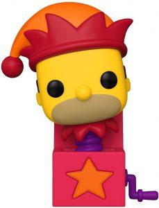 Funko POP de Homer caja - Los mejores FUNKO POP de los Simpsons Halloween - Los mejores FUNKO POP de series de dibujos animados