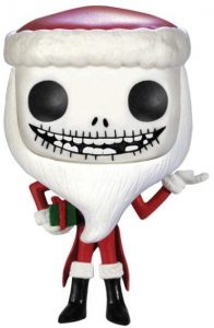 Funko POP de Jack Skellington de Santa Claus de Pesadilla Antes de Navidad - Los mejores FUNKO POP de Navidad - Funko POP navideños - FUNKO POP Christmas