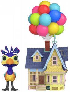 Funko POP de Kevin y casa de globos - Los mejores FUNKO POP de UP - FUNKO POP de Disney Pixar