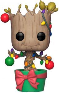 Funko POP de Mini Groot en maceta de Navidad - Los mejores FUNKO POP de Navidad - Funko POP navideños - FUNKO POP Christmas