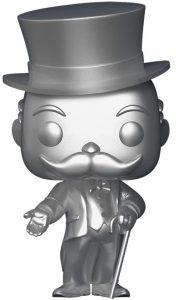 Funko POP de Mr. Monopoly plateado - Los mejores FUNKO POP del Monopoly - Los mejores FUNKO POP de marcas comerciales