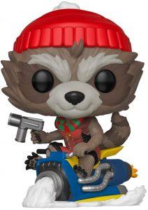 Funko POP de Rocket Racoon de Navidad - Los mejores FUNKO POP de Navidad - Funko POP navideños - FUNKO POP Christmas