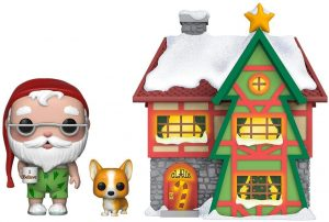 Funko POP de Santa Claus de Navidad en casa - Los mejores FUNKO POP de Navidad - Funko POP navideños - FUNKO POP Christmas
