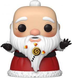 Funko POP de Santa Claus de Pesadilla Antes de Navidad - Los mejores FUNKO POP de Navidad - Funko POP navideños - FUNKO POP Christmas