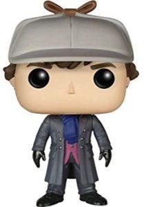 Funko POP de Sherlock Holmes con sombrero - Los mejores FUNKO POP de la serie de Sherlock - Funko POP de series de televisión