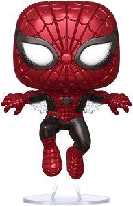 Funko POP de Spiderman Metalizado - Los mejores FUNKO POP de Spiderman - Los mejores FUNKO POP del Spiderverse - Funko POP de Marvel Comics - Los mejores FUNKO POP de los Vengadores