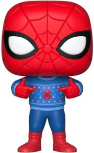 Funko POP de Spiderman de Navidad - Los mejores FUNKO POP de Navidad - Funko POP navideños - FUNKO POP Christmas