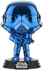 Funko POP de Stormtrooper cromado azul - Los mejores FUNKO POP de Stormtroopers - Los mejores FUNKO POP de personajes de Star Wars
