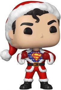 Funko POP de Superman de Navidad - Los mejores FUNKO POP de Navidad - Funko POP navideños - FUNKO POP Christmas