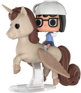 Funko POP de Tina en unicornio - Los mejores FUNKO POP de Bob's Burgers - Los mejores FUNKO POP de series de dibujos animados