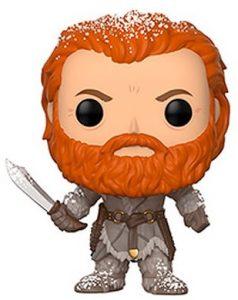 Funko POP de Tormund con nieve - Los mejores FUNKO POP de Juego de Tronos de HBO - Los mejores FUNKO POP de Game of Thrones - Funko POP de series de televisión