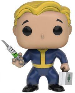 Funko POP de Vault Boy Médico de Fallout - Los mejores FUNKO POP de Fallout - Los mejores FUNKO POP de personajes de videojuegos