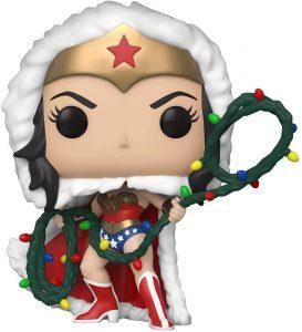 Funko POP de Wonder Woman de Navidad - Los mejores FUNKO POP de Navidad - Funko POP navideños - FUNKO POP Christmas