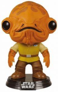 Funko POP del Almirante Ackbar - Los mejores FUNKO POP del General Ackbar - Los mejores FUNKO POP de personajes de Star Wars