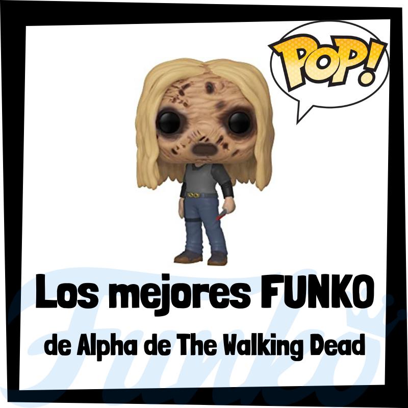 Los mejores FUNKO POP de Alpha de The Walking Dead