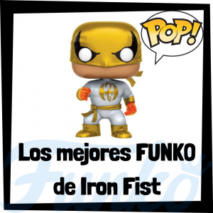 Los mejores FUNKO POP de Iron Fist - Funko POP de The Defenders - Funko POP de personajes de Marvel
