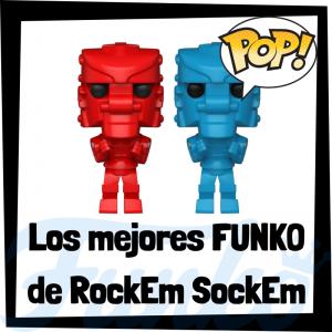 Los mejores FUNKO POP de Rock'Em Sock'Em de robots - Funko POP de marcas y anuncios de televisión