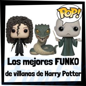 Los mejores FUNKO POP de villanos de Harry Potter - muñecos FUNKO POP de Harry Potter