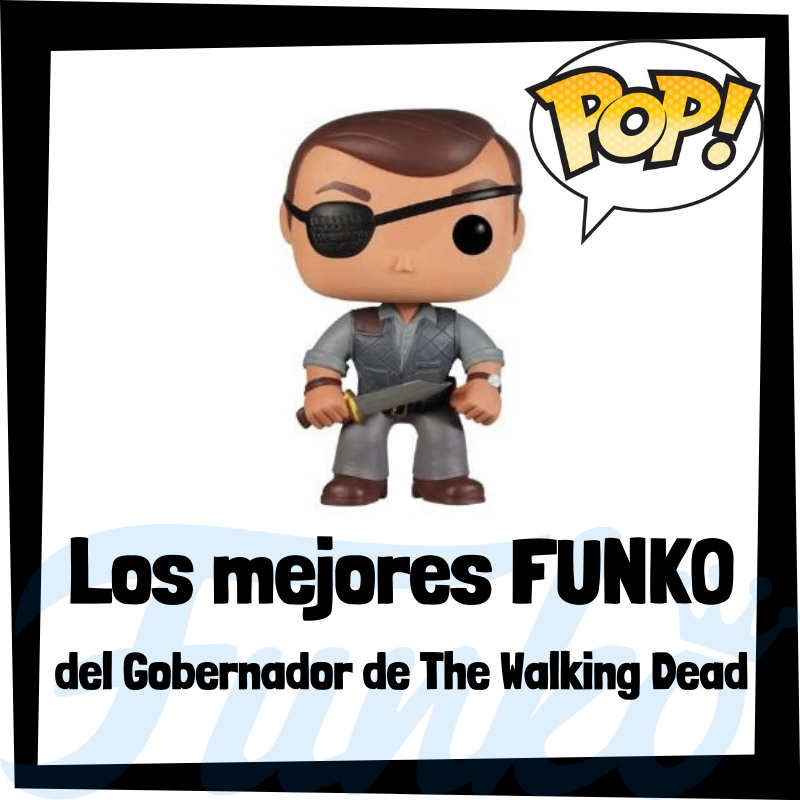 Los mejores FUNKO POP del Gobernador de The Walking Dead