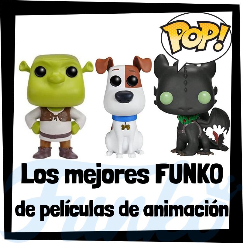 Los mejores FUNKO POP de películas de dibujos animados