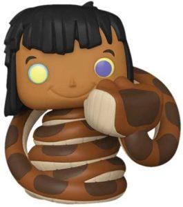 FUNKO POP de Mowgli con Kaa - Los mejores FUNKO POP del libro de la Selva de momentos de Disney