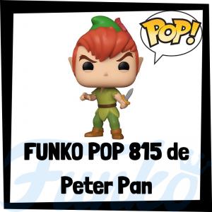 Figura FUNKO POP 815 de Peter Pan de Disney - Los mejores FUNKO POP de Disney - Funko POP de personajes de Disney