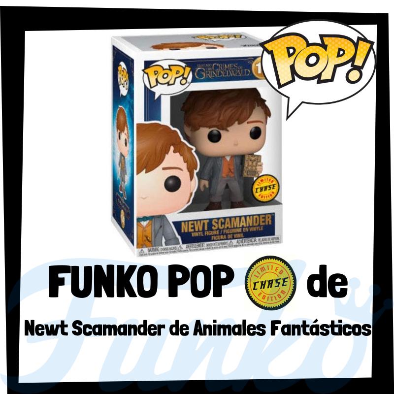 FUNKO POP Chase de Newt Scamander de Animales Fantásticos