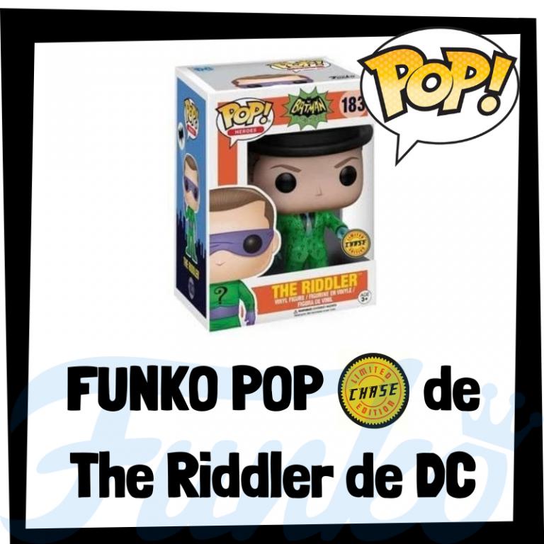 Lee más sobre el artículo FUNKO POP Chase de The Riddler de DC