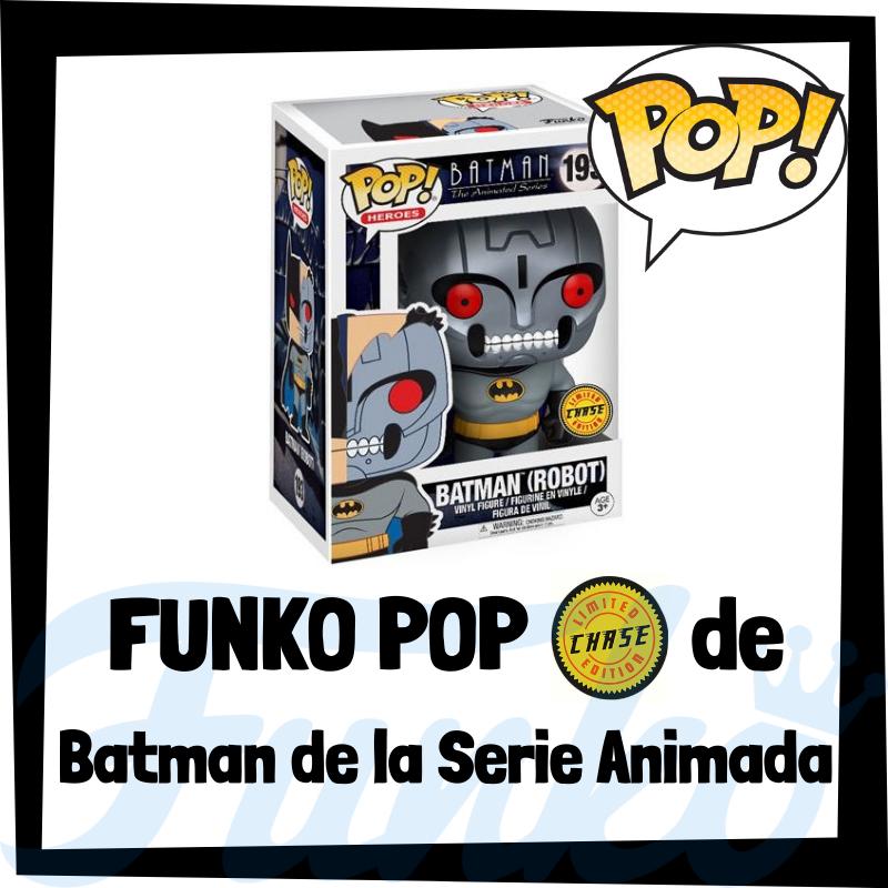 FUNKO POP Chase de Batman Robot de la Serie Animada