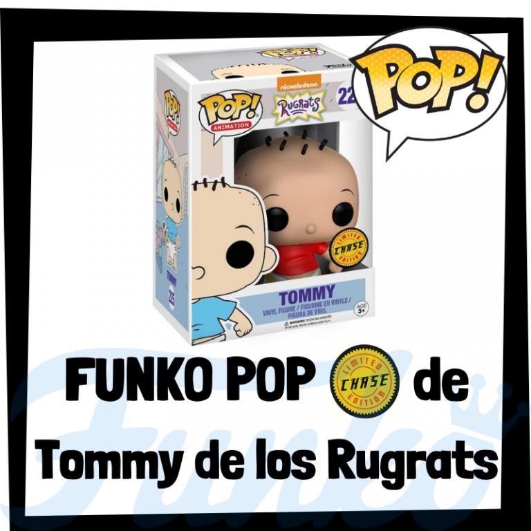 Lee más sobre el artículo FUNKO POP Chase de Tommy de los Rugrats