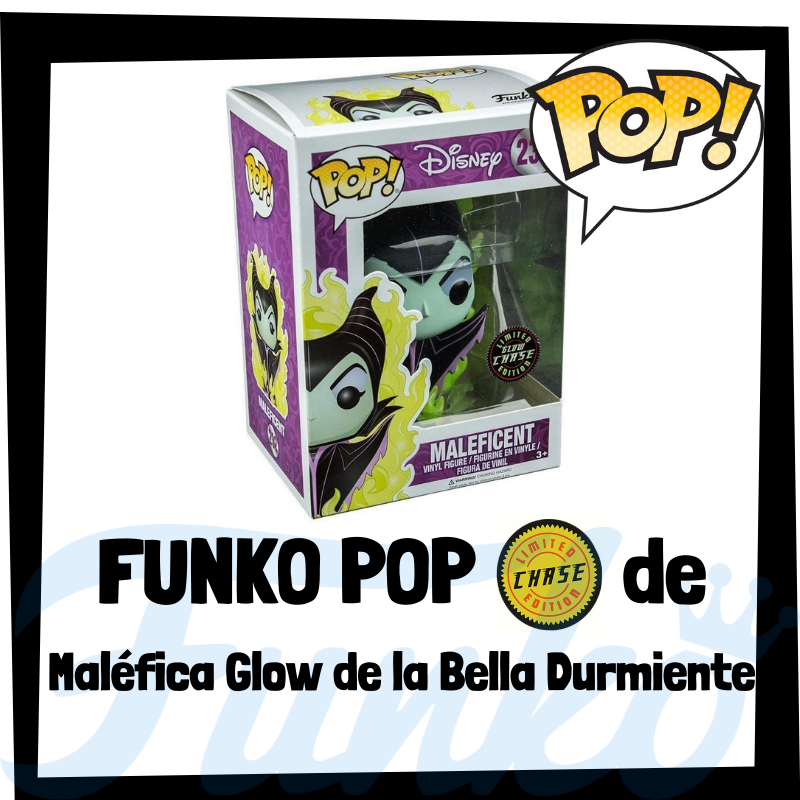 FUNKO POP Chase de Maléfica Glow de la Bella Durmiente