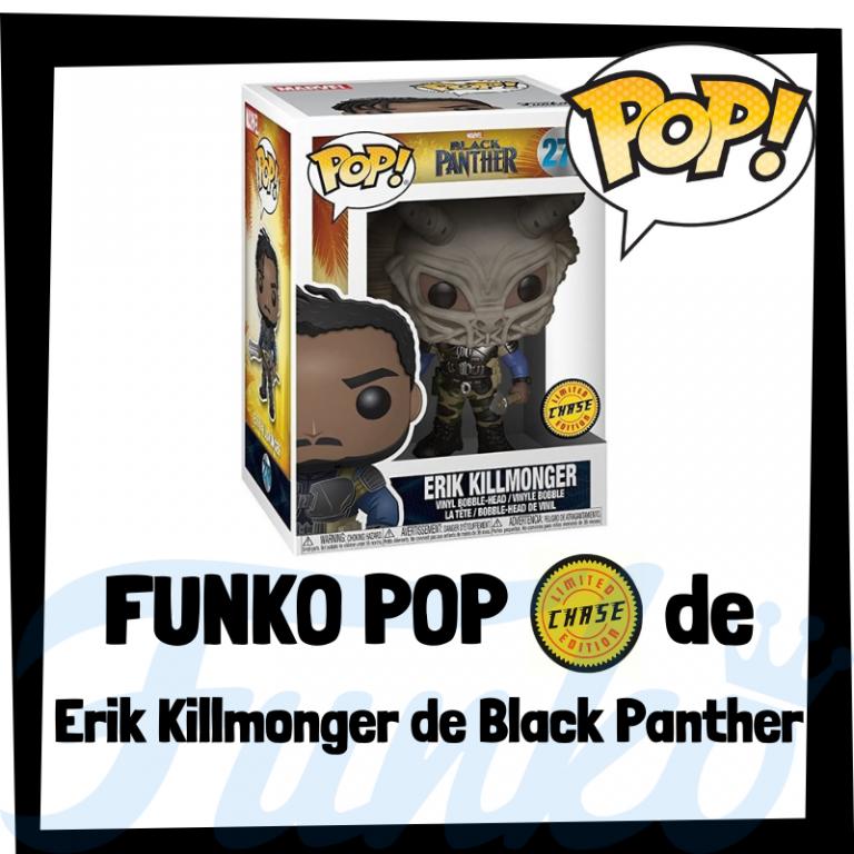 Lee más sobre el artículo FUNKO POP Chase de Erik Killmonger de Black Panther