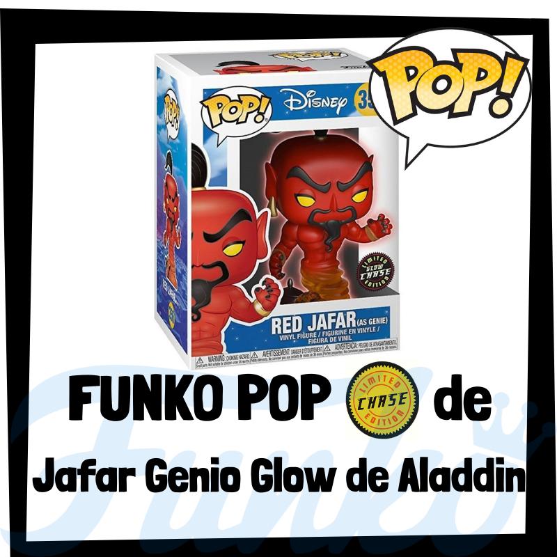 FUNKO POP Chase de Jafar Glow de Aladdin