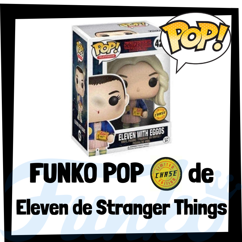 FUNKO POP Chase de Eleven de Stranger Things