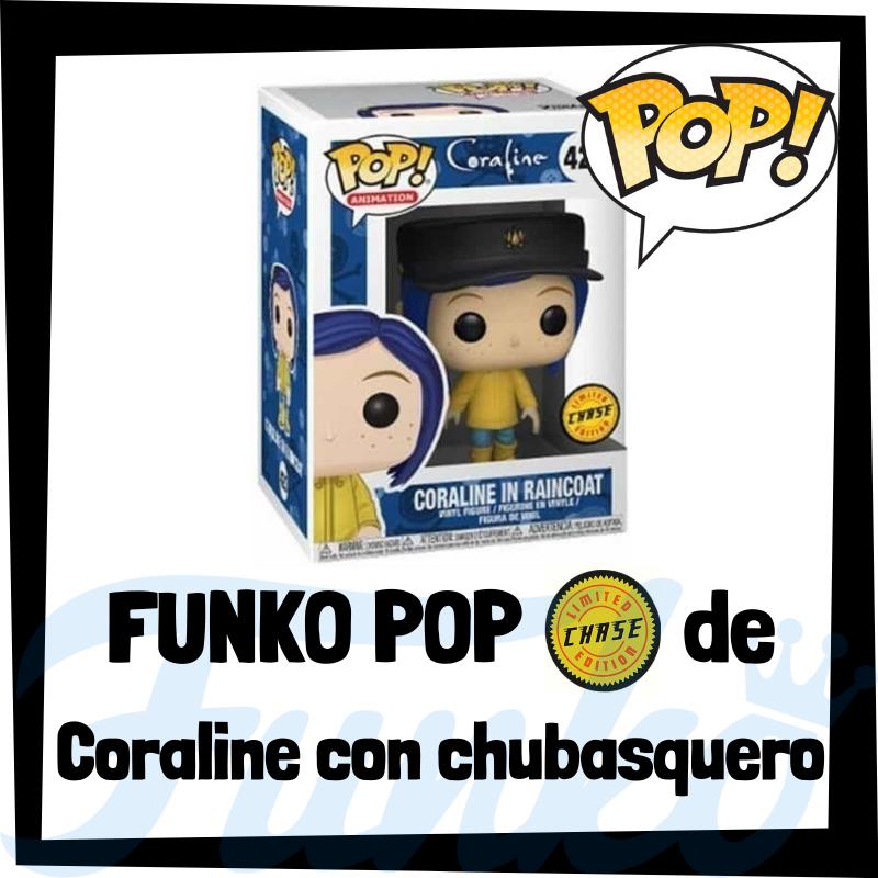 FUNKO POP Chase de Coraline de los Mundos de Coraline