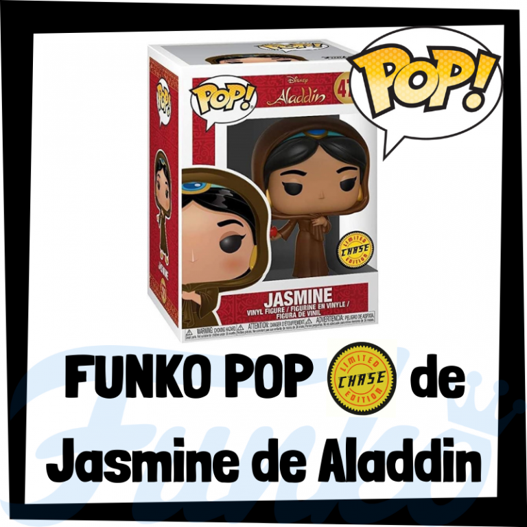 Lee más sobre el artículo FUNKO POP Chase de Jasmine de Aladdin