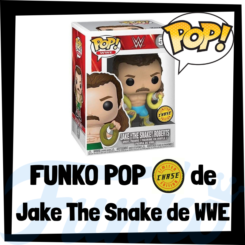 FUNKO POP Chase de Jake The Snake de WWE