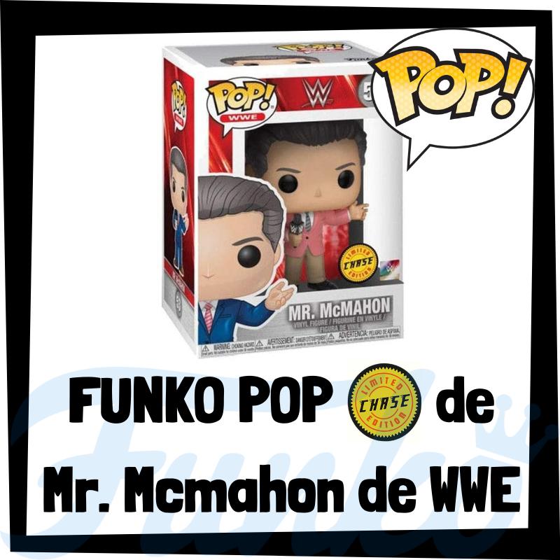FUNKO POP Chase de Mr. Mcmahon de WWE