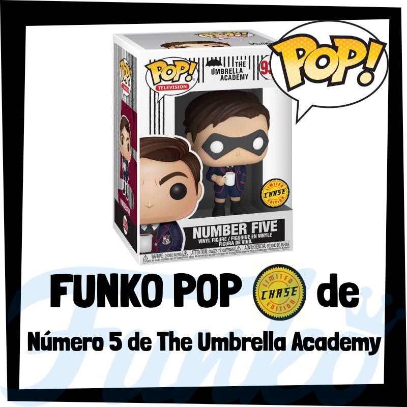 FUNKO POP Chase de Número Cinco de The Umbrella Academy